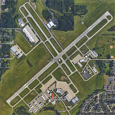 Waukegan-Airport-Sat-Image