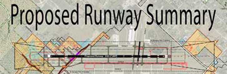 Proposed Runway Summary